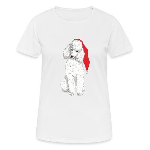 Poodle toy W - christmas - Dame T-shirt svedtransporterende