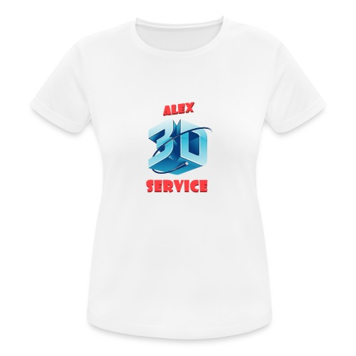 logo emporesa de impresion 3d en albacete - Camiseta mujer transpirable