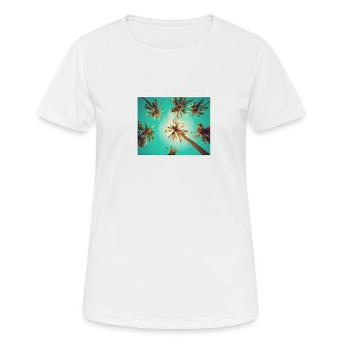 palm pinterest jpg - Women's Breathable T-Shirt