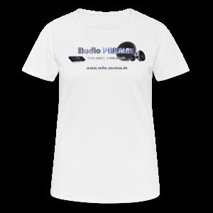 Radio PARALAX Facebook-Logo mit Webadresse - Frauen T-Shirt atmungsaktiv