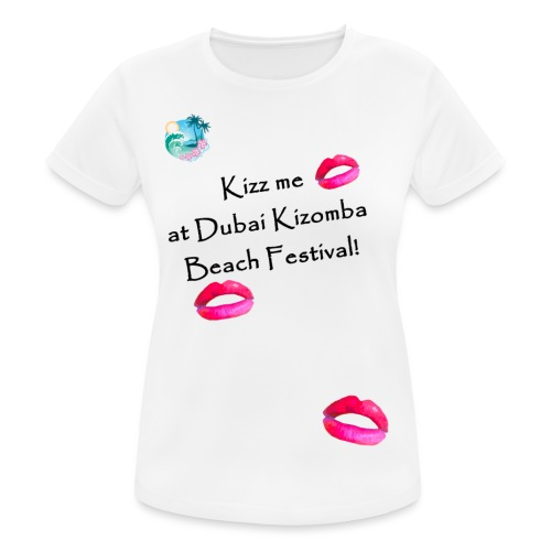 Perfect lips design black text variation 4 - Women's Breathable T-Shirt