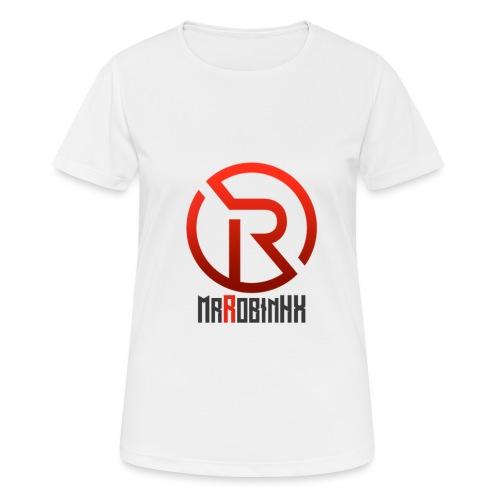 MrRobinhx - Pustende T-skjorte for kvinner