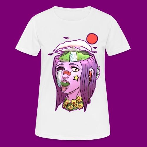 Pink Girl - Vrouwen T-shirt ademend actief