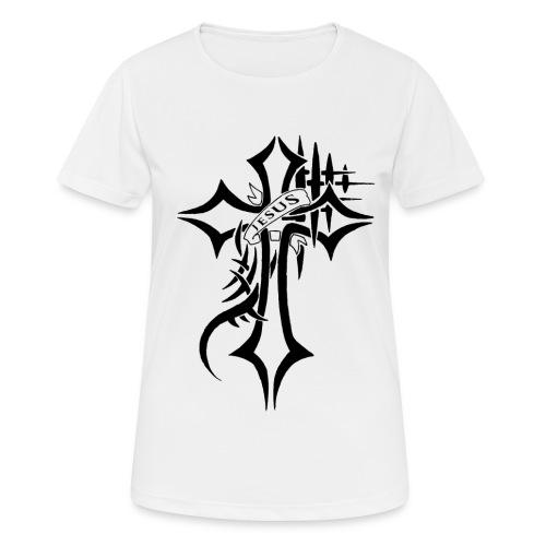cross - Pustende T-skjorte for kvinner