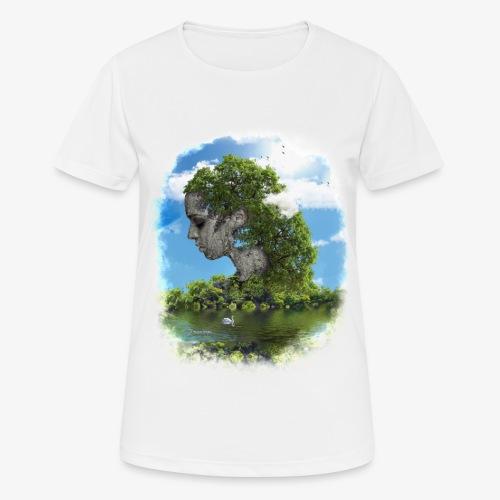 Land of Id - Andningsaktiv T-shirt dam