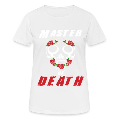 Master of death - white - Koszulka damska oddychająca