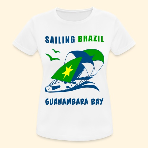 Sailing Brazil - Women's Breathable T-Shirt