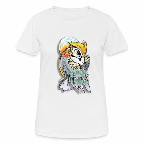 Cosmic owl - Camiseta mujer transpirable