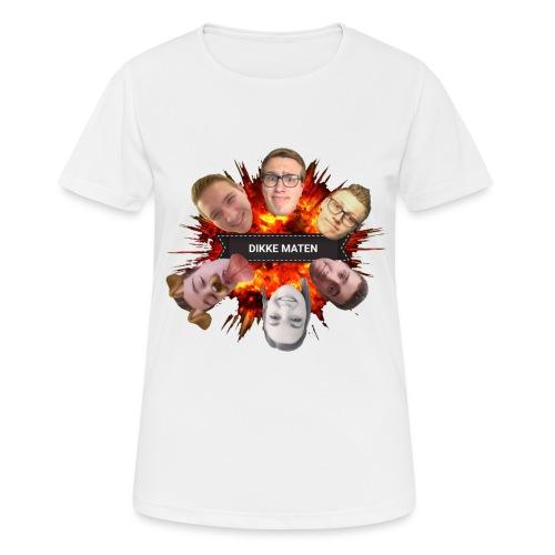 Dikke Maten boem - Vrouwen T-shirt ademend actief