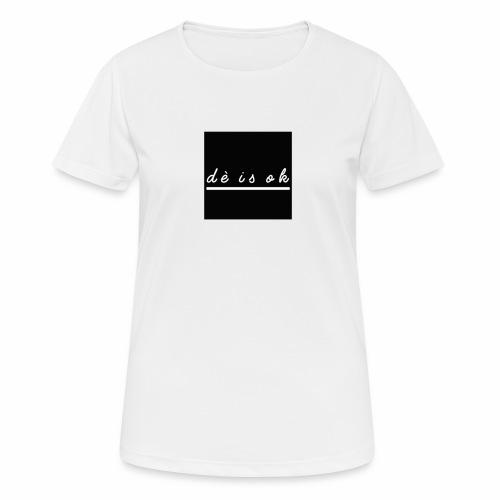 de is ok - Vrouwen T-shirt ademend actief
