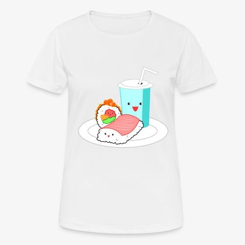 Happy Sushi - Vrouwen T-shirt ademend actief