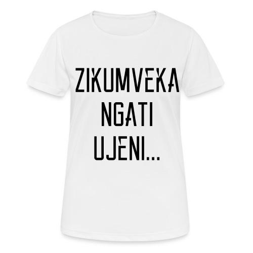 Zikumveka Ngati Black - Women's Breathable T-Shirt