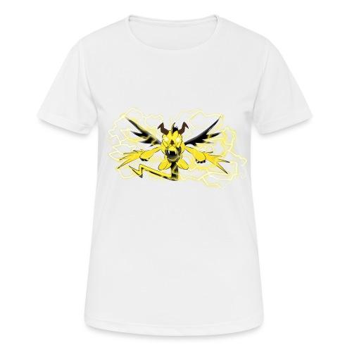 Fulgur il drago elettrizzante - Maglietta da donna traspirante