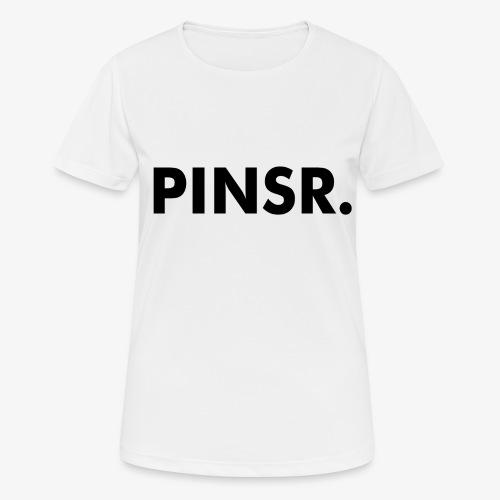 PINSR. White - Vrouwen T-shirt ademend actief