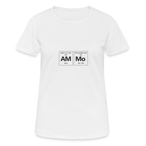 Ammo - Dame T-shirt svedtransporterende