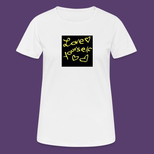 LoveYourself - Maglietta da donna traspirante