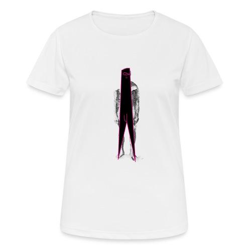 Figure Censor Mask - Women's Breathable T-Shirt