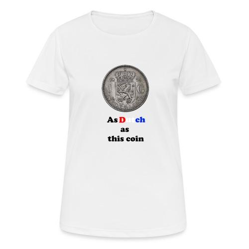 Hollandse Gulden - Vrouwen T-shirt ademend actief