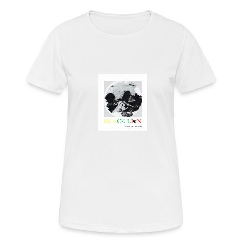 black lion - Andningsaktiv T-shirt dam