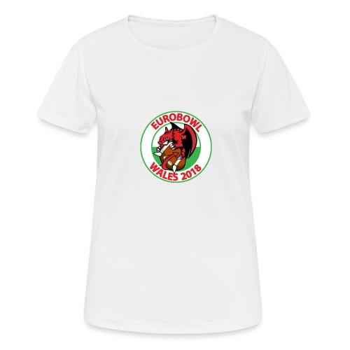 Eurobowl Wales 2018 - Women's Breathable T-Shirt