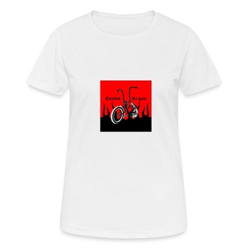 badge002 - T-shirt respirant Femme