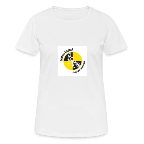 badge010 - T-shirt respirant Femme