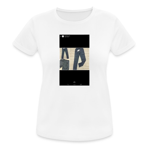 Allowed reality - Women's Breathable T-Shirt