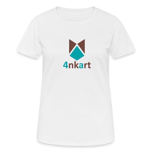 logo 4nkart - T-shirt respirant Femme
