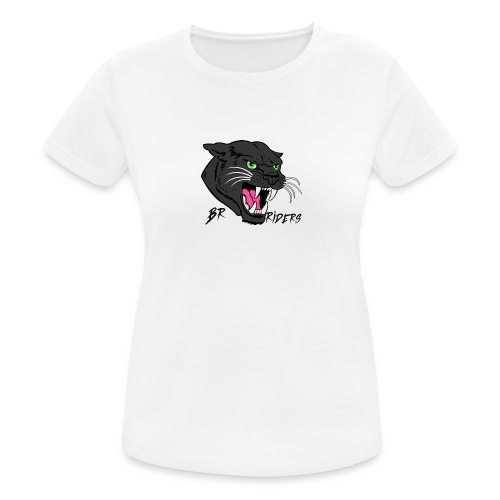 BR Riders - Dame T-shirt svedtransporterende