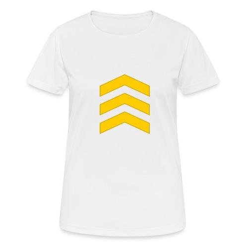 Kersantti - naisten tekninen t-paita