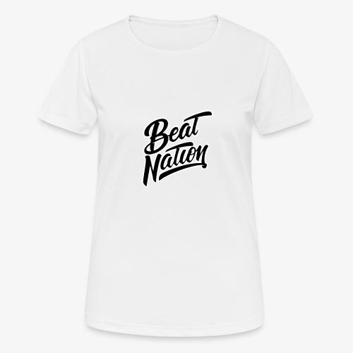 Logo Officiel Beat Nation Noir - Frauen T-Shirt atmungsaktiv