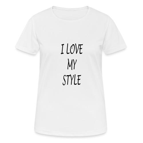 3 - Maglietta da donna traspirante