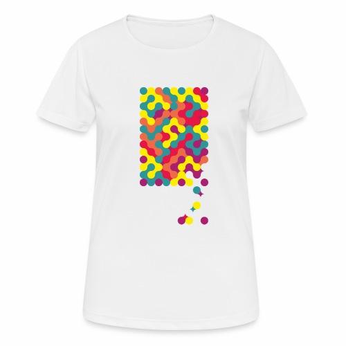 Falling ap-art - Women's Breathable T-Shirt