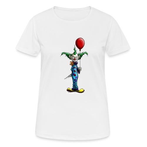 klaun tee - Andningsaktiv T-shirt dam