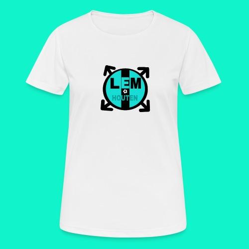 LEM SPORT CLUB - vrouwen T-shirt ademend