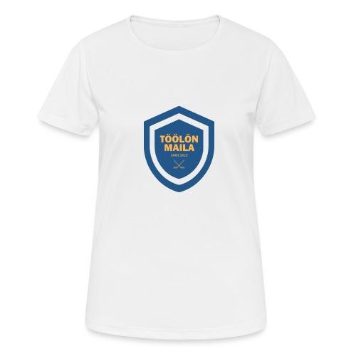 Töölön Maila - naisten tekninen t-paita