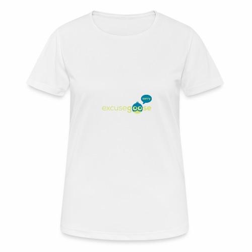 excusegoose 01 - Frauen T-Shirt atmungsaktiv