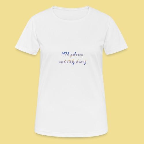 1978 - Frauen T-Shirt atmungsaktiv