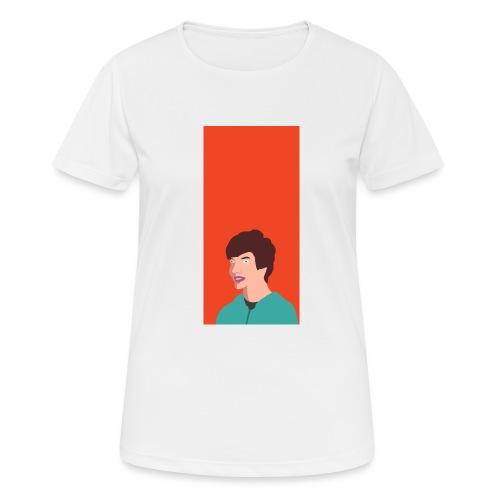 Aron Deksel v.2 6/6S Plus - Pustende T-skjorte for kvinner