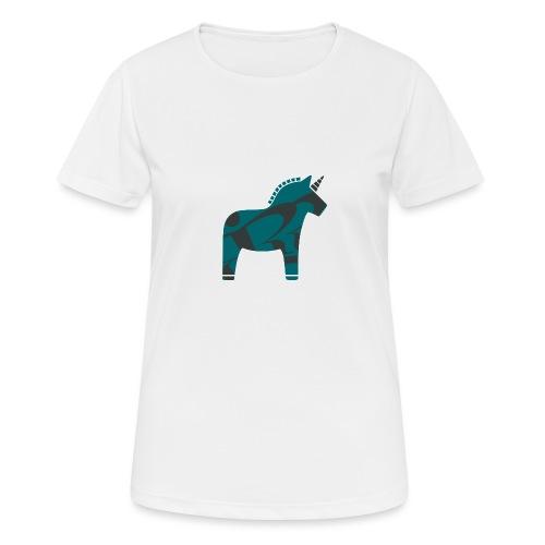 Swedish Unicorn - Frauen T-Shirt atmungsaktiv