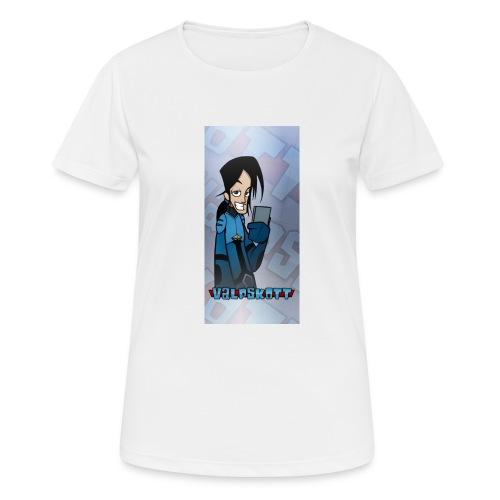 Valp Mobilskal png - Andningsaktiv T-shirt dam