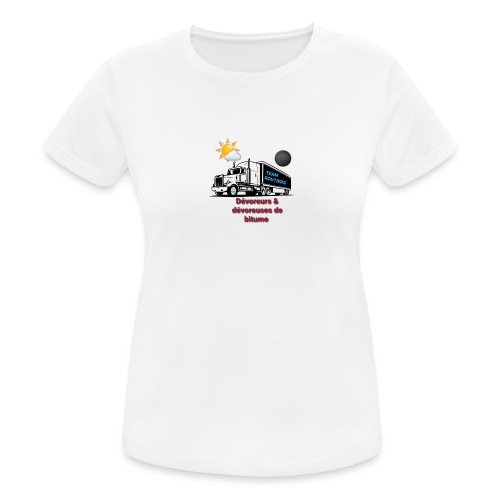 Team routiers - T-shirt respirant Femme