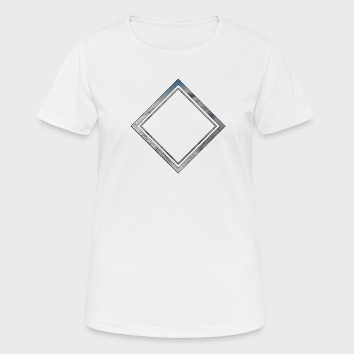 Cloud Square - Frauen T-Shirt atmungsaktiv