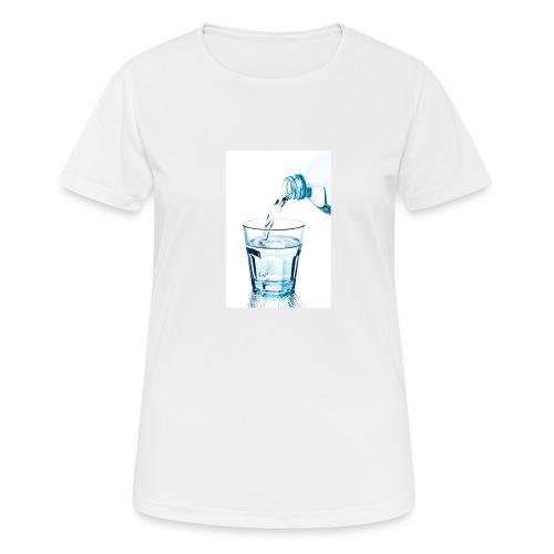 Glas-water-jpg - vrouwen T-shirt ademend