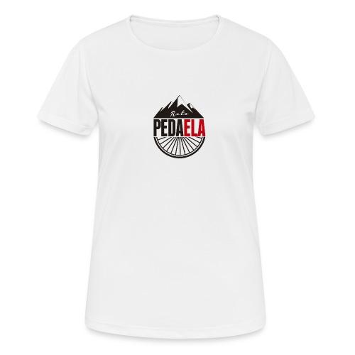 PEDAELA - Camiseta mujer transpirable