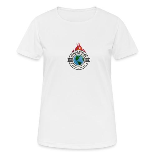 grillnations - Frauen T-Shirt atmungsaktiv