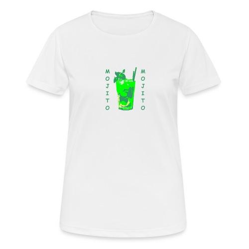 Mojito bicchiere colorato - Maglietta da donna traspirante