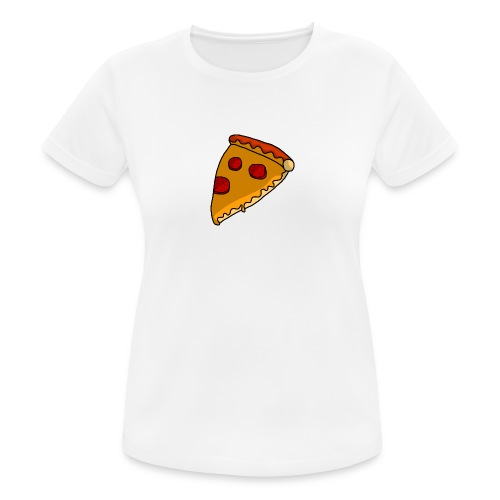 pizza - Dame T-shirt svedtransporterende