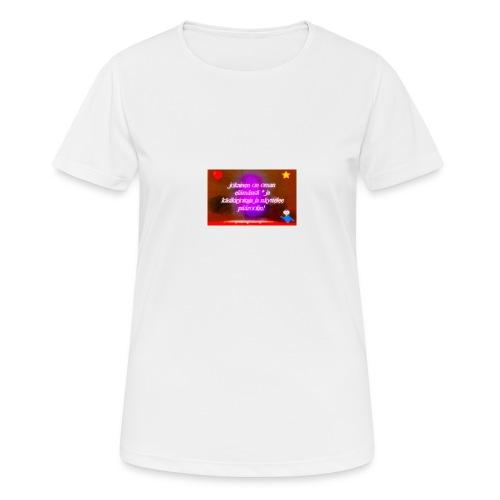 13082520_10209215566404964_6330329623246187838_n - naisten tekninen t-paita