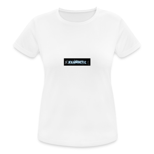 DerHardstyle.ch Kleines Logo - Frauen T-Shirt atmungsaktiv